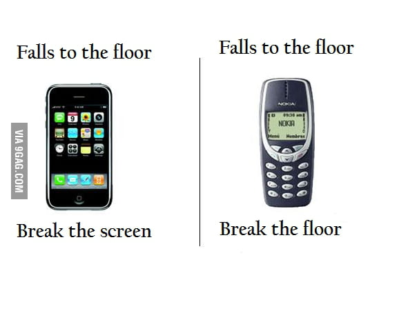 Cellphones Differences