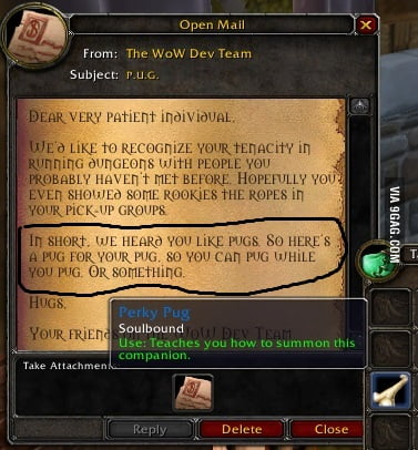 World Of Warcraft Meme 9gag