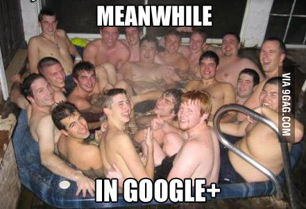 Meanwhile in Google+