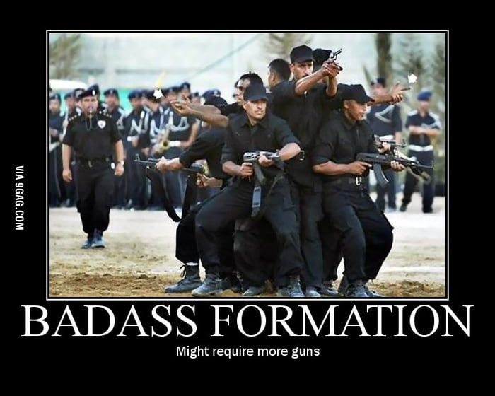Badass Formation