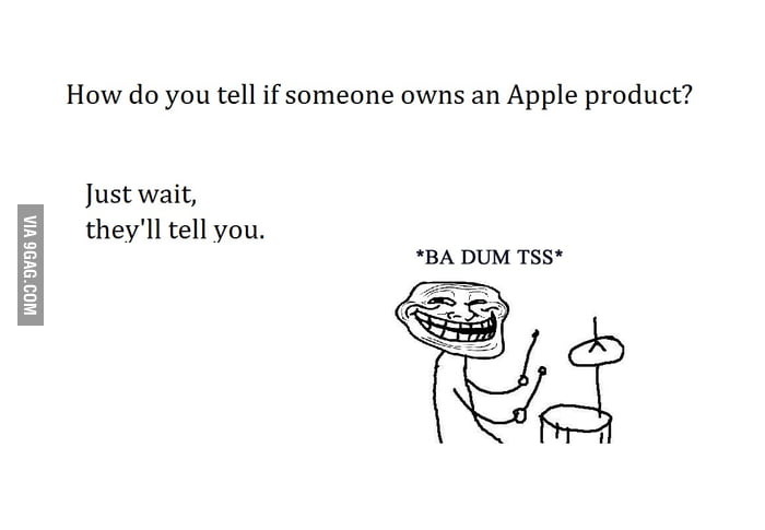 Annoying Apple fanboys