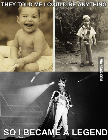 Just Freddie Mercury