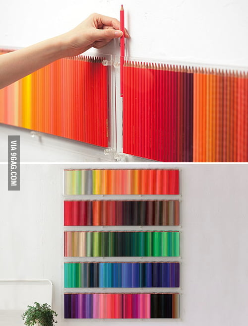 500 colored pencils