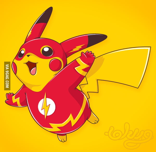 Flash Pikachu