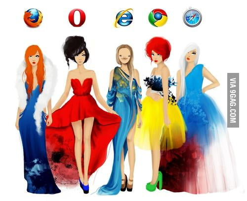 If Browsers Were Girls