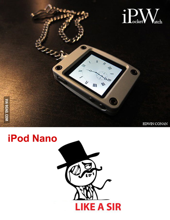 IPod time like a sir