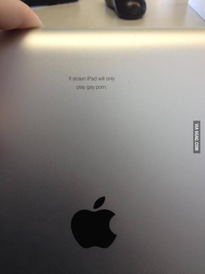 IPad security.