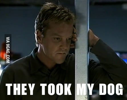 Emo Jack Bauer - They took my dog