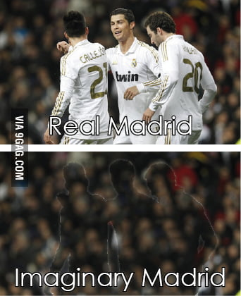 Real Madrid…