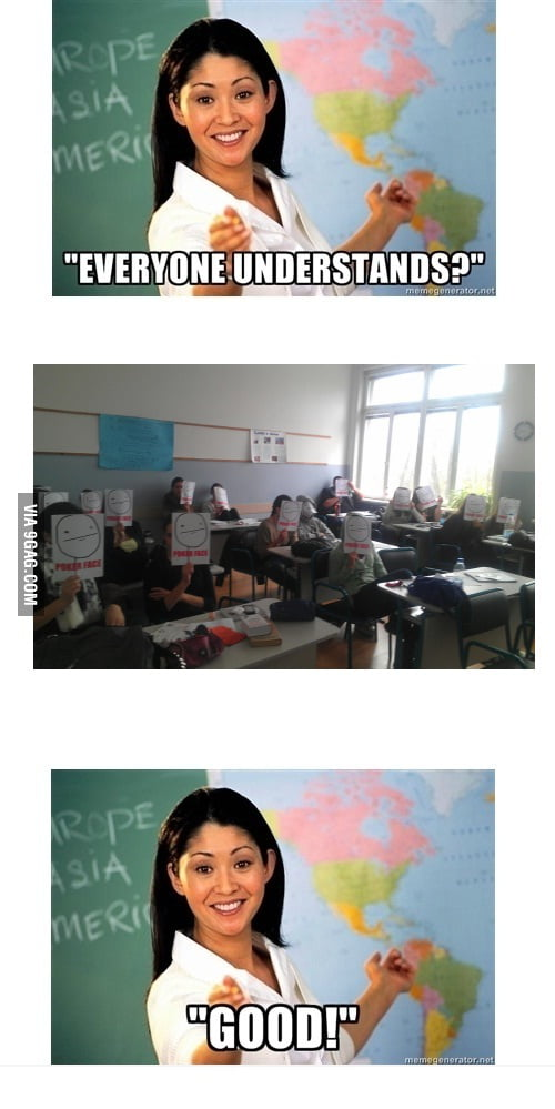 Not a single f*** by teacher