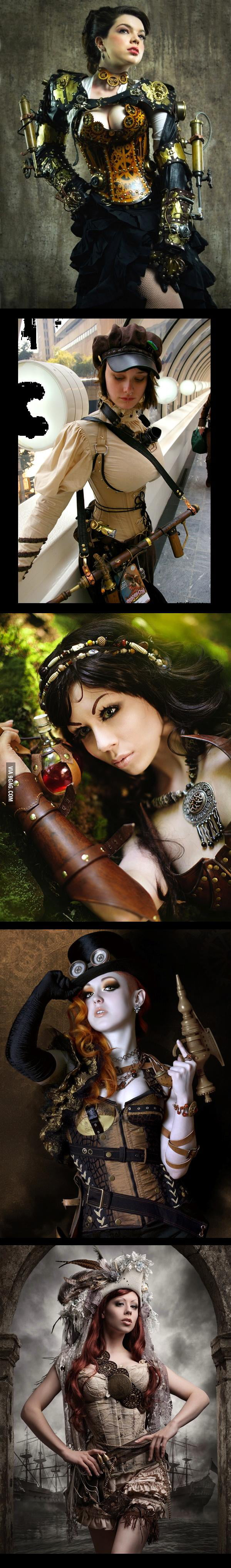 Steampunk Girls Cosplay
