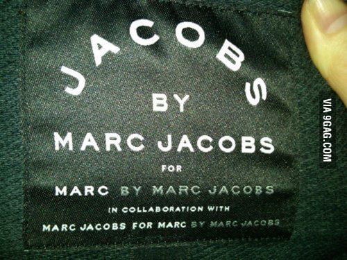 Genius Marc Jacobs Is g