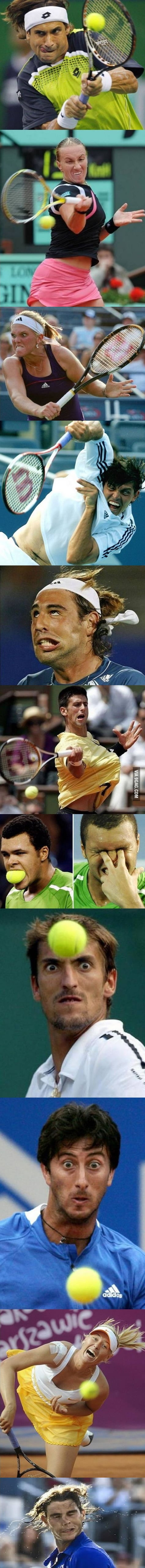 Funny Tennis Moments