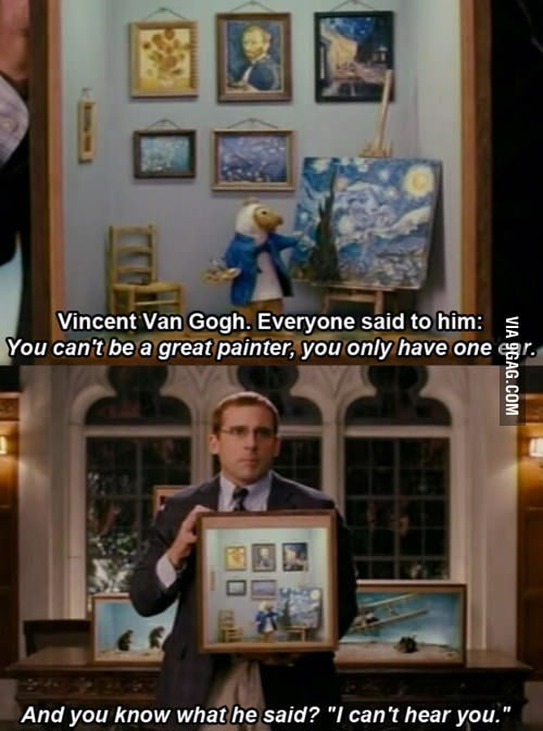 Just Steve Carell being aw