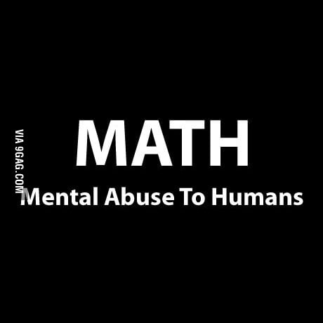 What Math stands for..