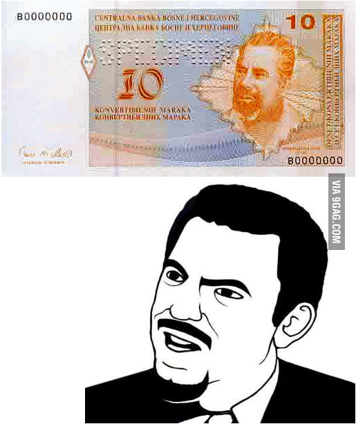 Bosnian money