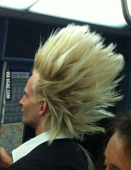 Super Saiyan is real!