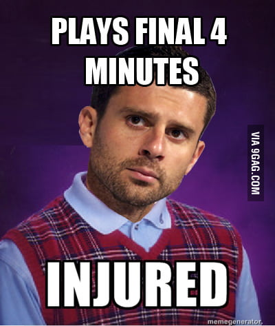 Bad Luck Thiago Motta