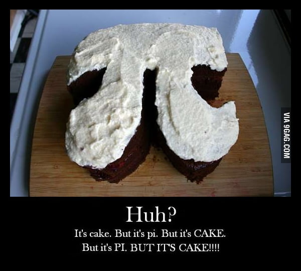 Is it a Pi or a Cake?