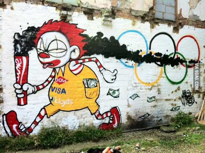 Olympic Graffiti