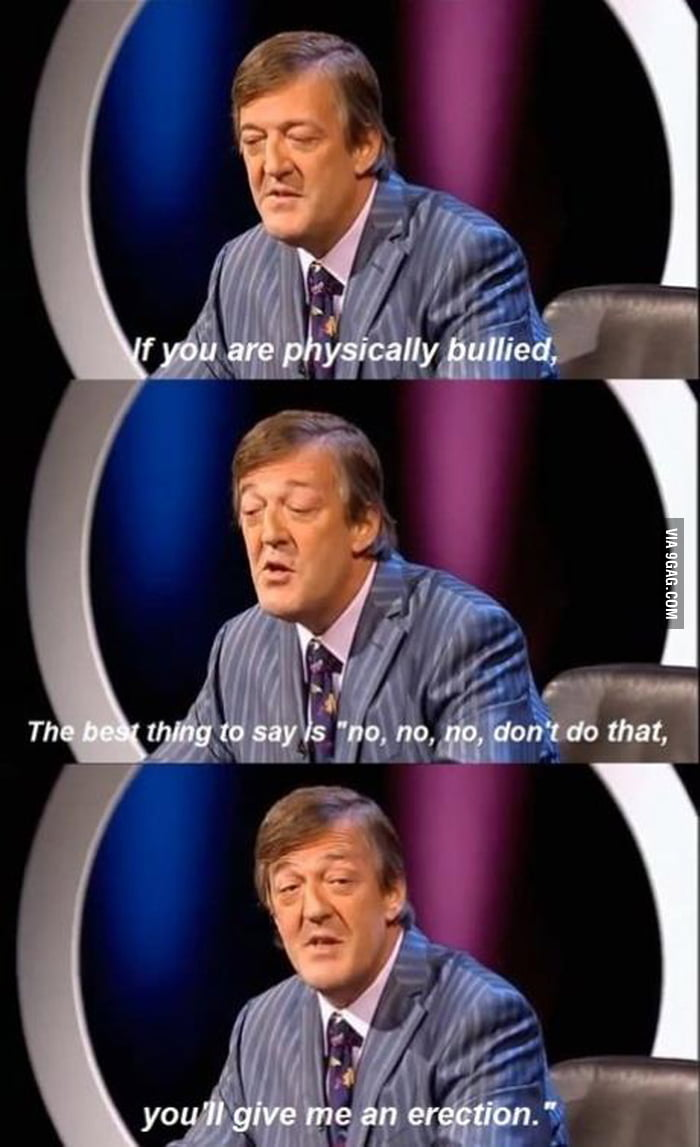 Stephen Fry on Bullying