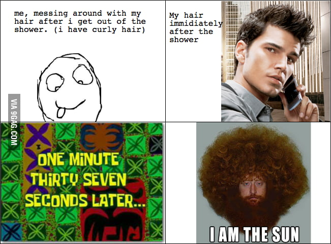 Curly Hair Sucks