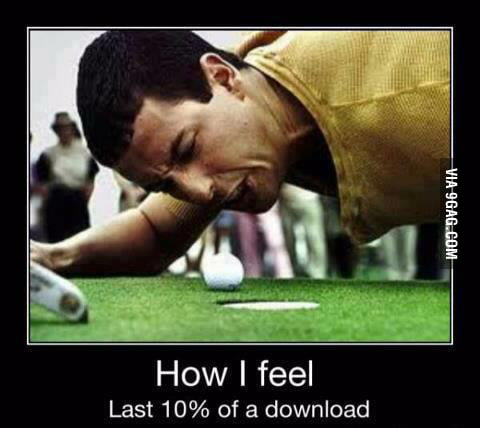 Downloading troubles...