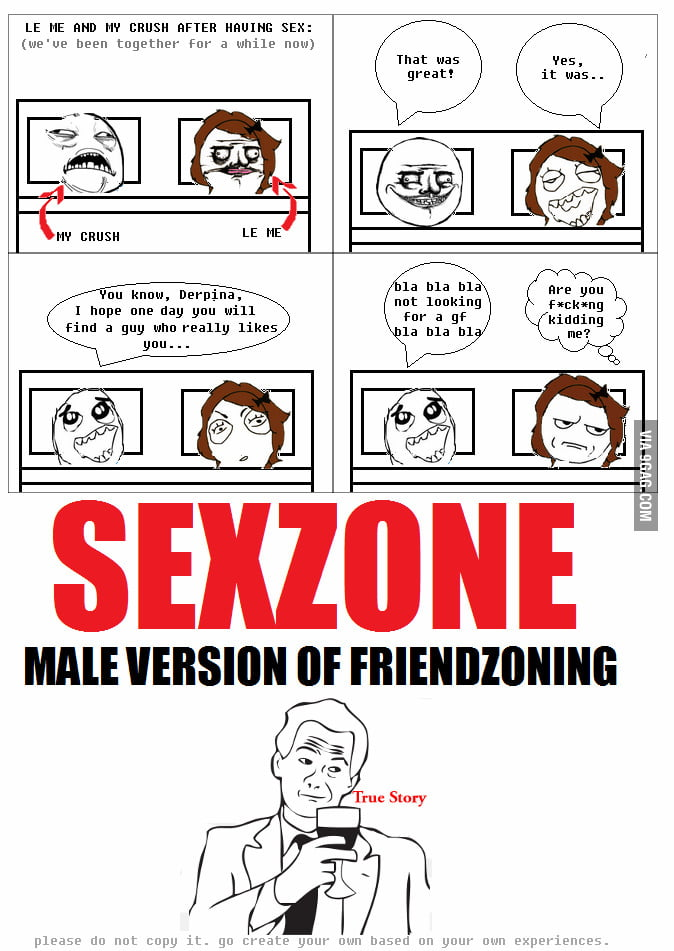 SEXZONE: male version of friendzoning