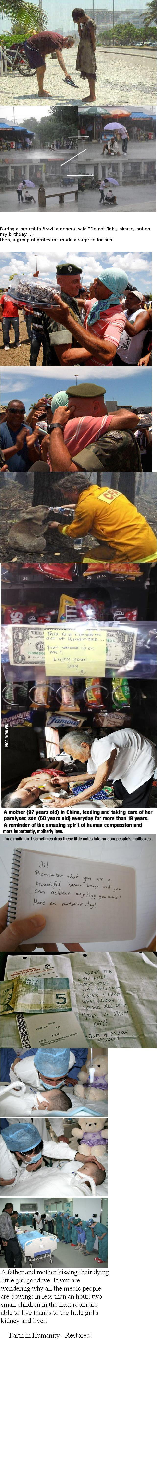 Faith in Humanity - Restored!