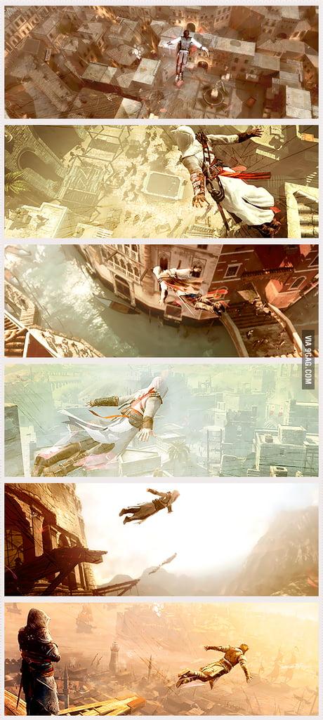 Assassin S Creed Leap Of Faith 9gag