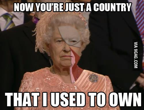 Now you're just a country...