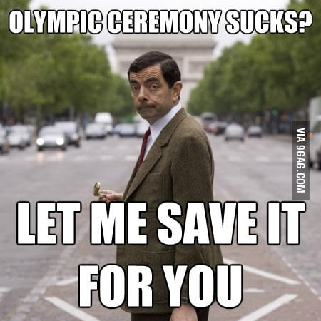 Good guy Mr. Bean