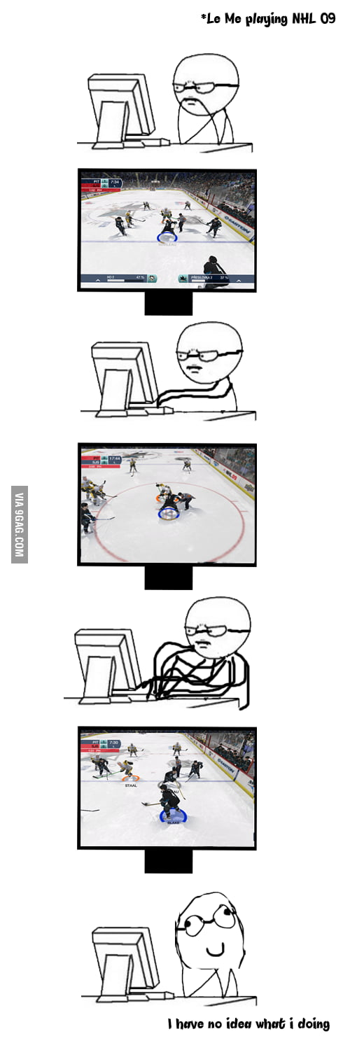Everytime I play nhl