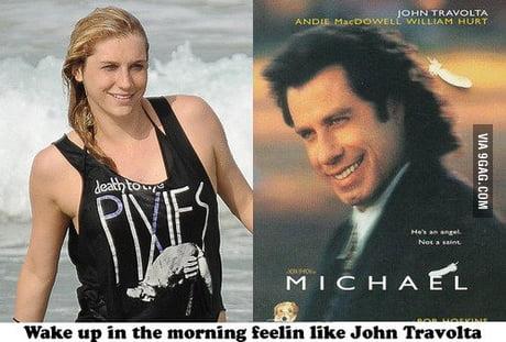 Kesha Looks Like John Travolta 9gag