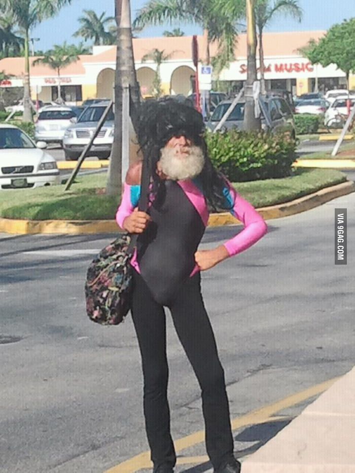 Fabulous Homeless Man