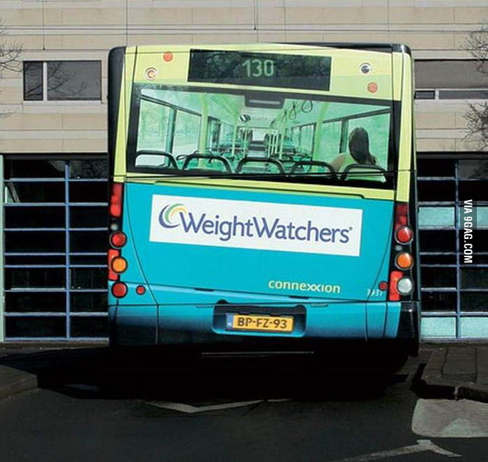 Clever Bus Advertisement