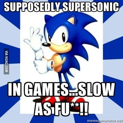 Douchebag Sonic 9gag