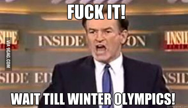 As a Canadian watching the Olypmics