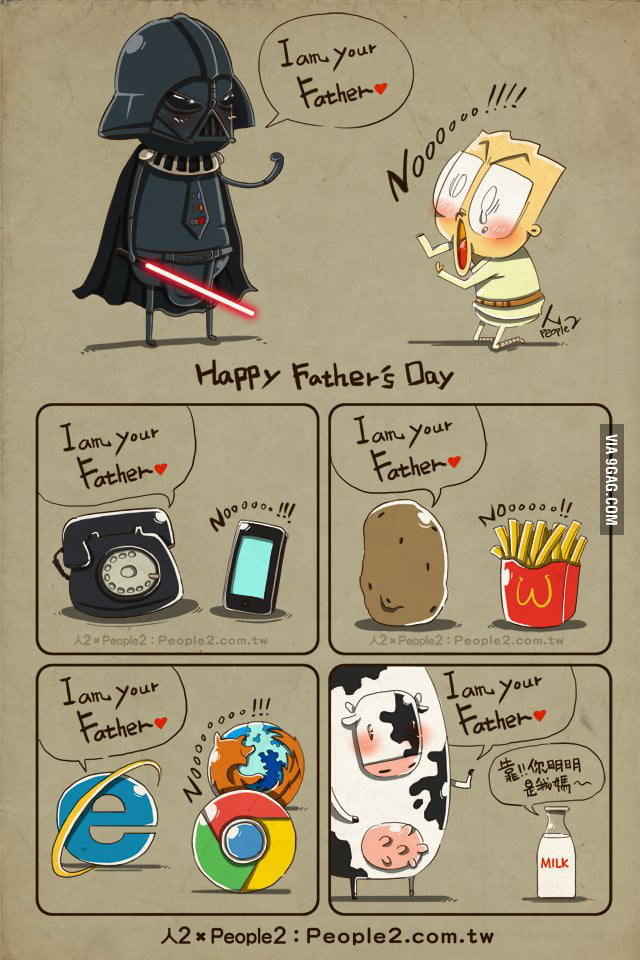I am your father.