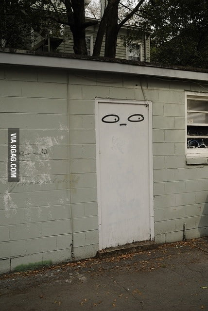 Suspicious door is suspicious