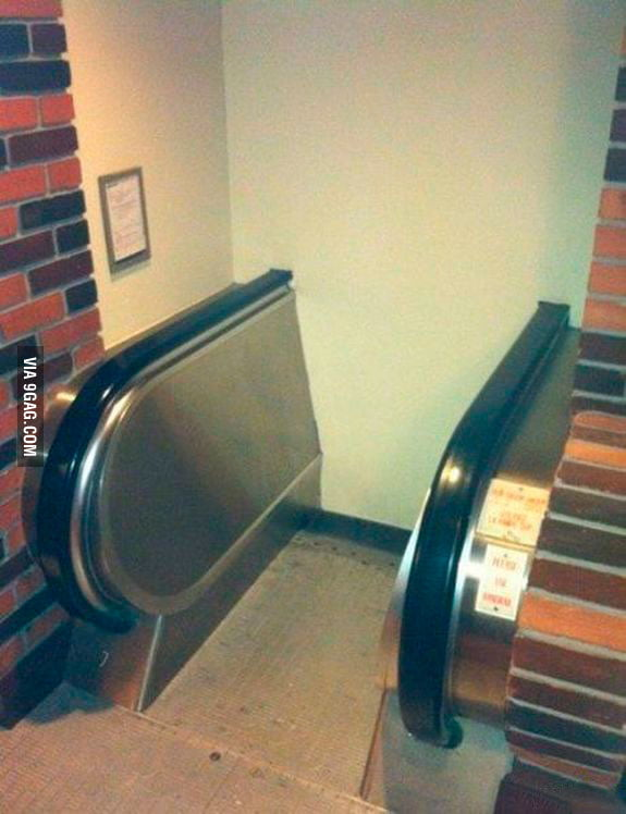 Found an escalator to Hogwarts