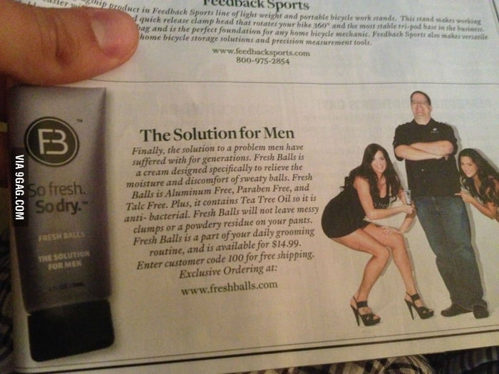 Finally! The solution for Men!