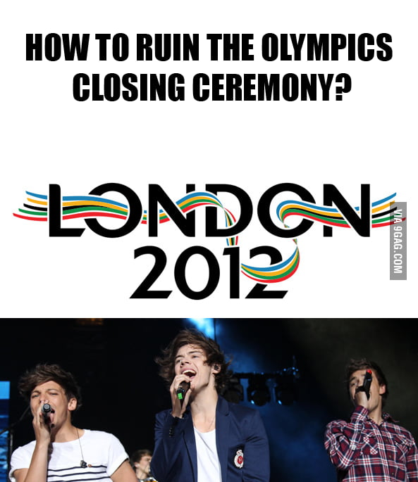 Ruining closing ceremony lvl: London