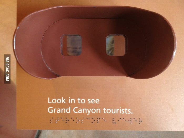 The Grand Canyon is blind-friendly