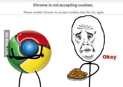 Chrome! Y U NO want my c