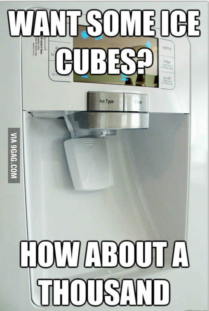 Scumbag ice machine