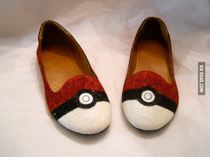 Pokeball Shoes
