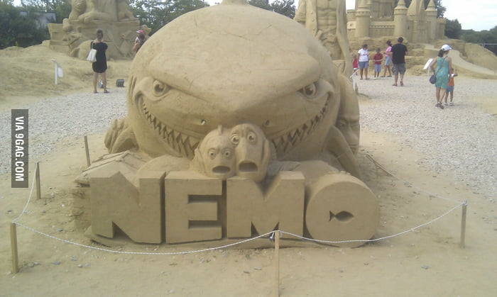 Nemo Sand Sculpture