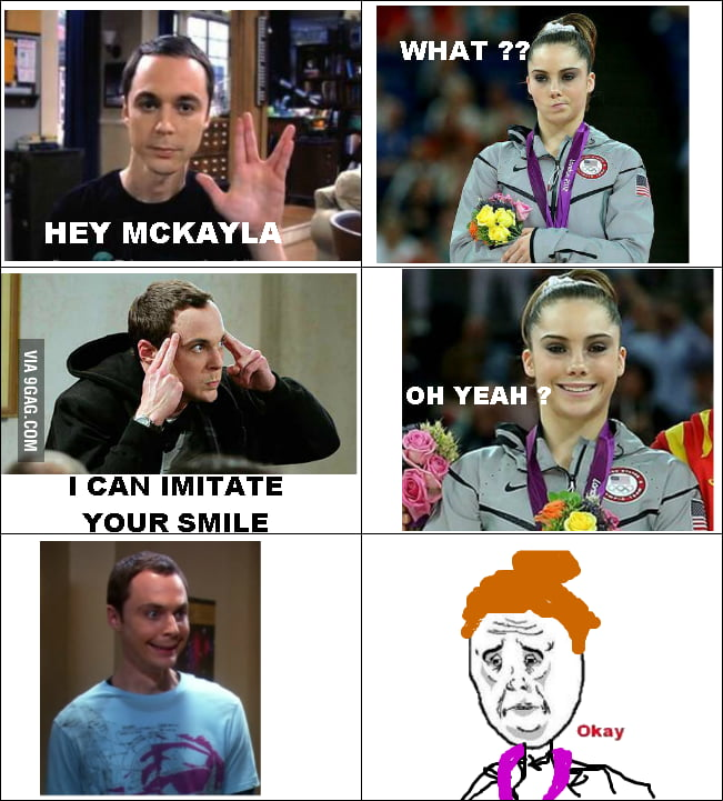Sheldon Cooper VS McKayla Marone