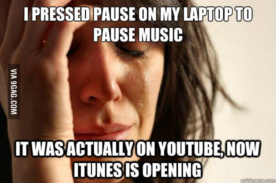 First World Mac Problems